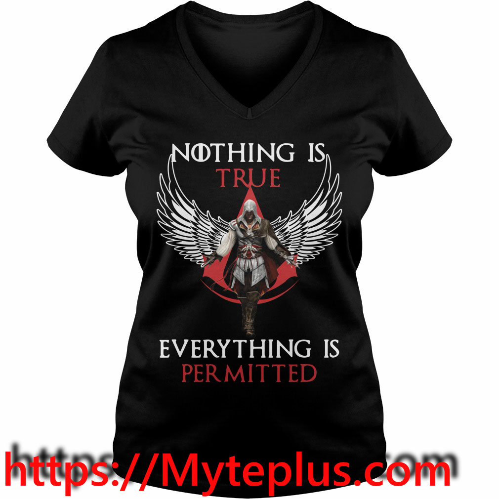 Nothing is true everything is permitted V-neck