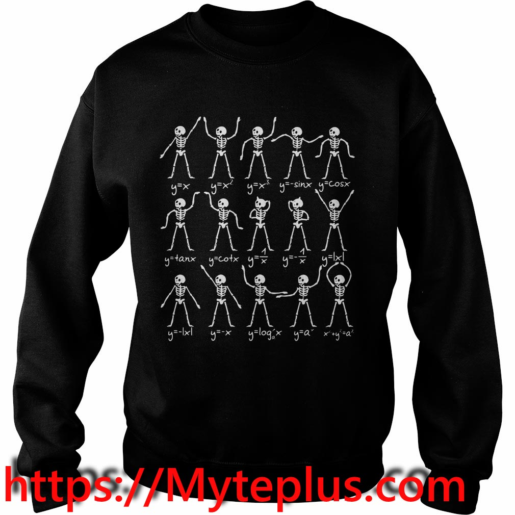 Skeletons Math Sweater