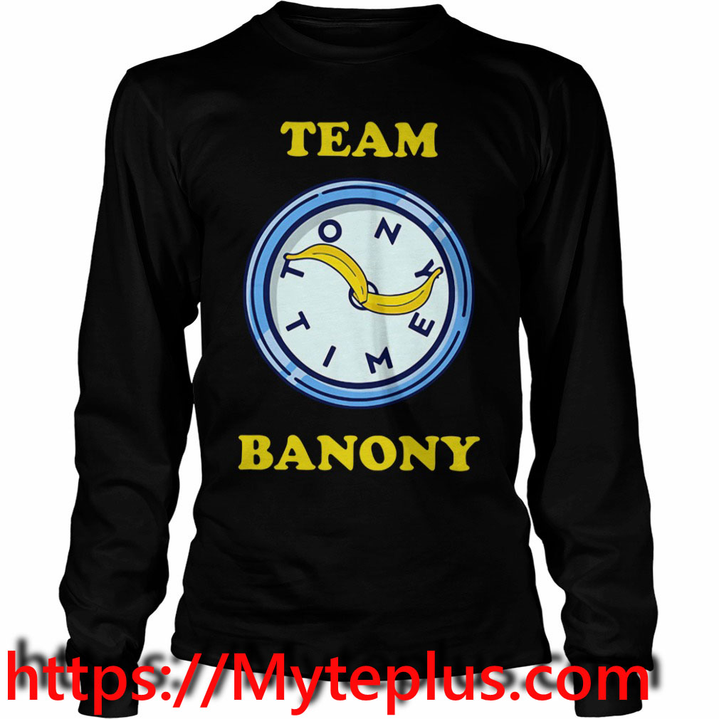 Team Banony Long sleeve