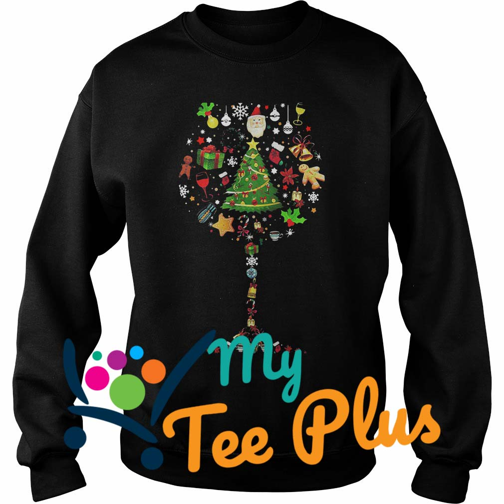 Glass of Christmas tree Sweater