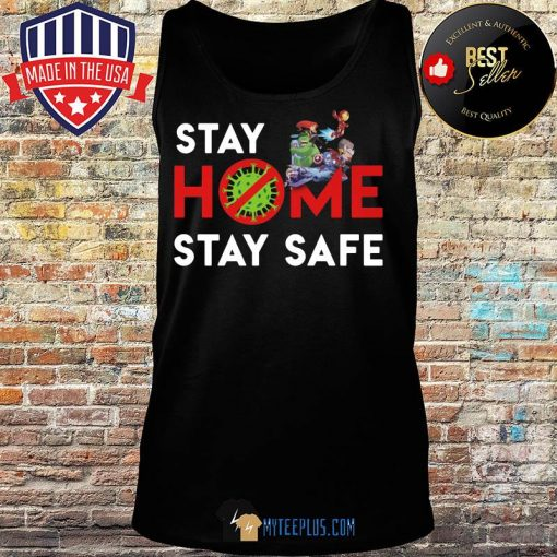 Cartoon Network Character Stay Home Stay Safe Coronavirus s Tank top