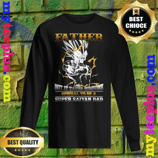 Official It takes someone special to be a super saiyan dad men's long