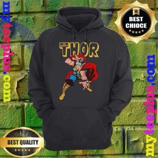 Official Thor War Hammer Red hoodie