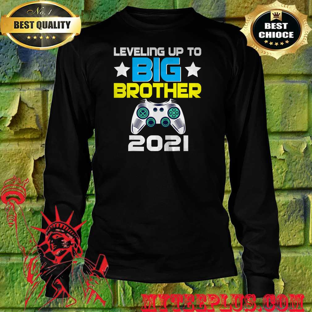 Official Leveling up to Big Brother 2021 shirt - myteeplus