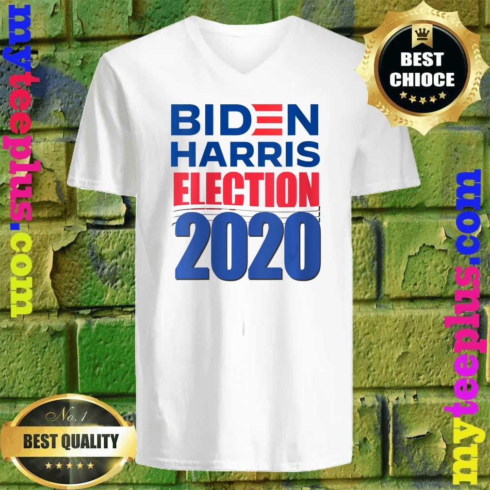 Joe Biden and Super Kamala Harris for President in 2020 v neck