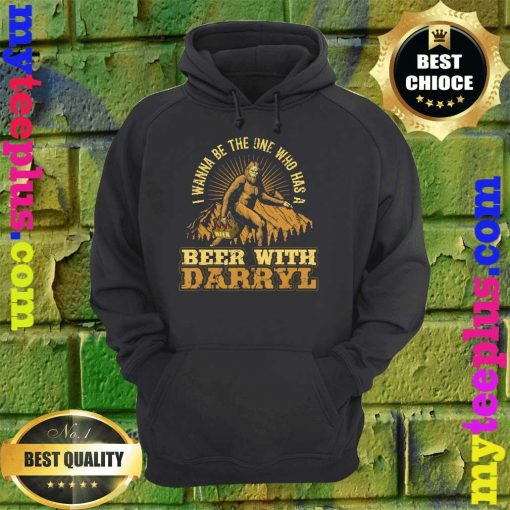 Official Beer With Darryl Bigfoot hoodie