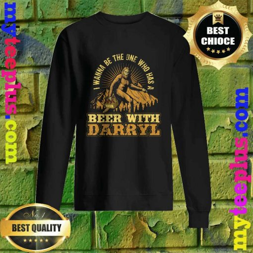 Official Beer With Darryl Bigfoot Sweatshirt