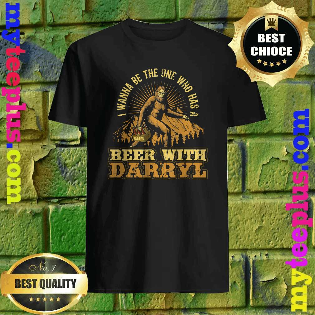 Official Beer With Darryl Bigfoot T-Shirt
