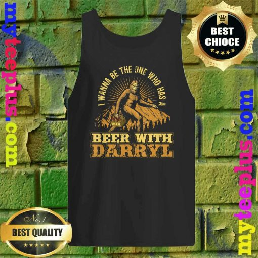 Official Beer With Darryl Bigfoot Tank top