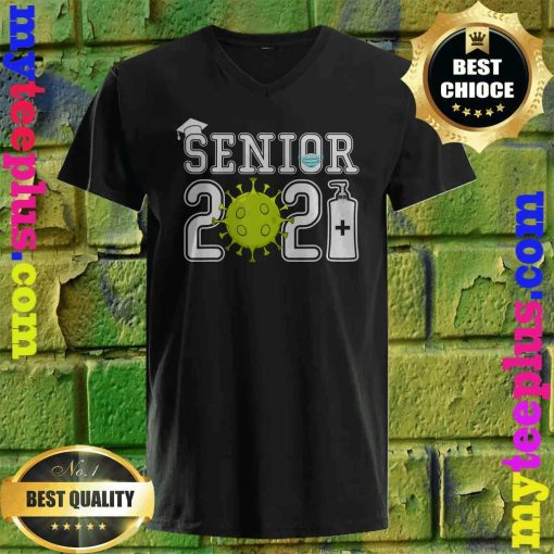 Senior 2021 Gift Class Of 2021 Senior v neck