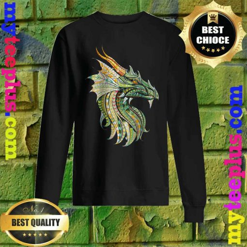 Celtic Dragon - Norse Mythological Dragon Sweatshirt