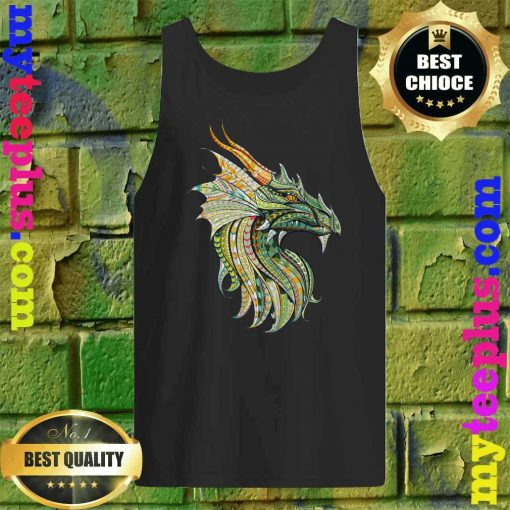 Celtic Dragon - Norse Mythological Dragon Tank top