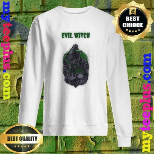 Evil Witch Simple Halloween Sweatshirt