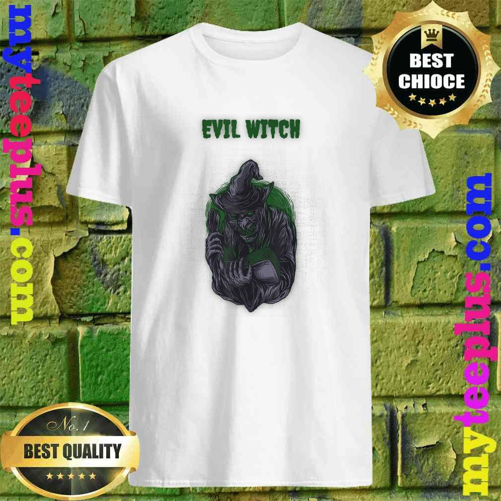 Evil Witch Simple Halloween T-Shirt
