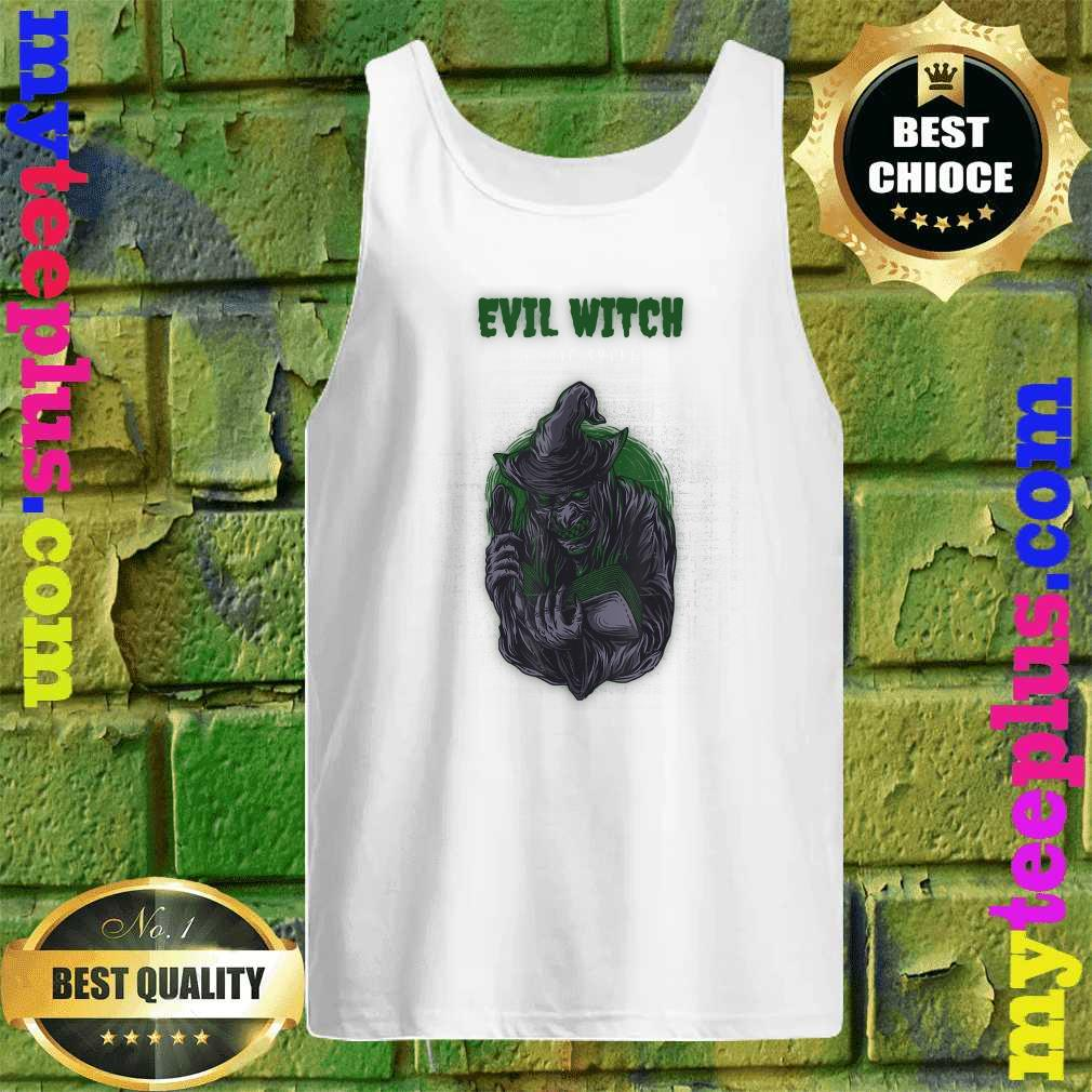 Evil Witch Simple Halloween Tank top