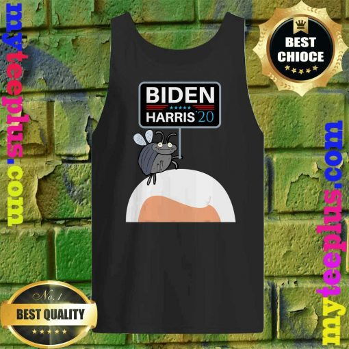 Funny Debate Fly on Mike Pence's Head for Biden Harris 2020 Tank top