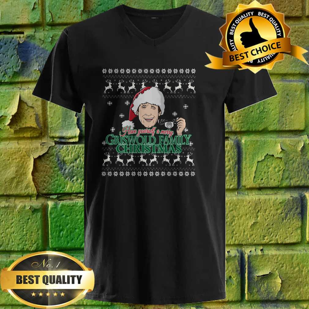 Have yourself a merry Griswold Family christmas v neck