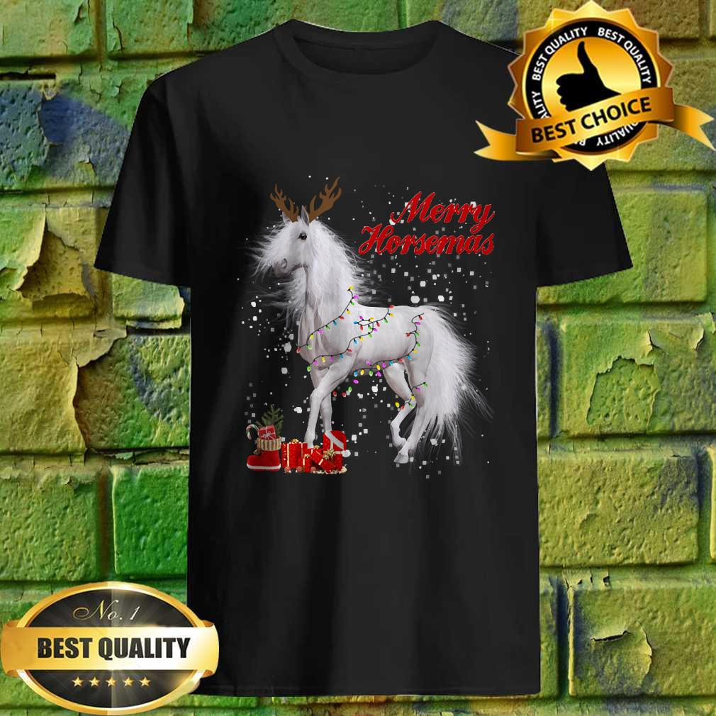 Horse Christmas For Horse Lovers XMas T-Shirt