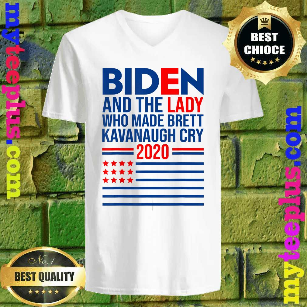 Joe Biden and the Woman Who Made Brett Kavanaugh Cry v neck
