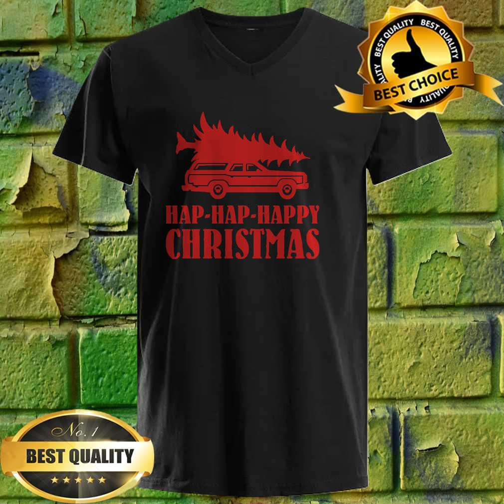 Official Hap - Hap - Happy Christmas v neck