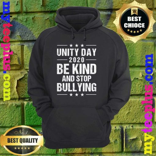 Unity Day Orange Shirt Men Kids Be Kind And Stop Bullying hoodie