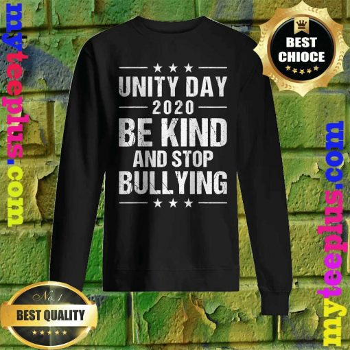 Unity Day Orange Shirt Men Kids Be Kind And Stop Bullying Sweatshirt