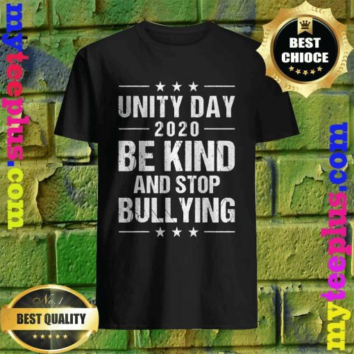 Unity Day Orange Shirt Men Kids Be Kind And Stop Bullying T-Shirt