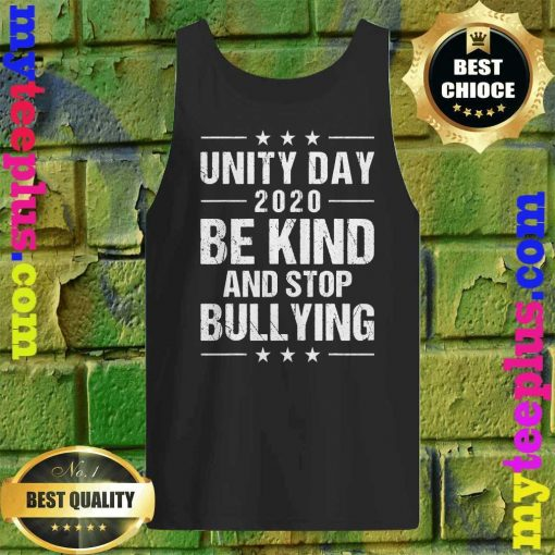 Unity Day Orange Shirt Men Kids Be Kind And Stop Bullying Tank top